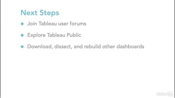 Next steps: Tableau 10 for Data Scientists