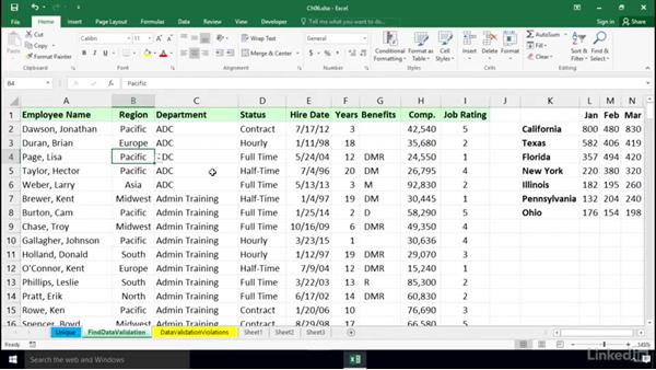 Welcome: Excel 2016: Data Validation in Depth