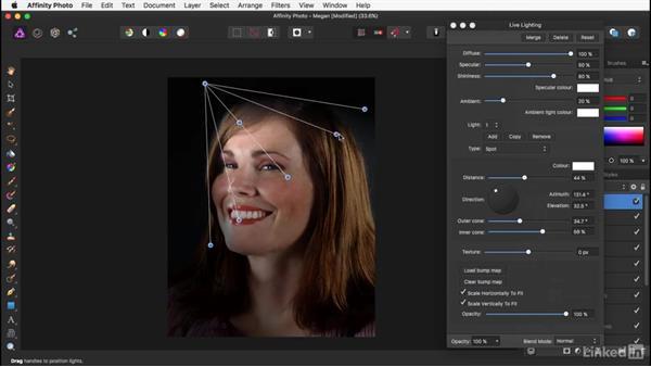 Strengthening the image with lighting: Affinity Photo: Basic Portrait Retouching