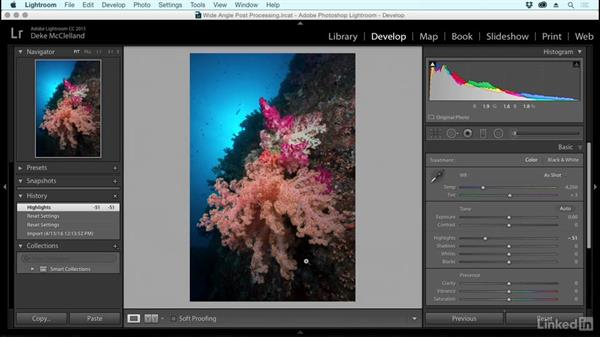 Advanced tools for developing underwater photos: Underwater Photography: Wide Angle