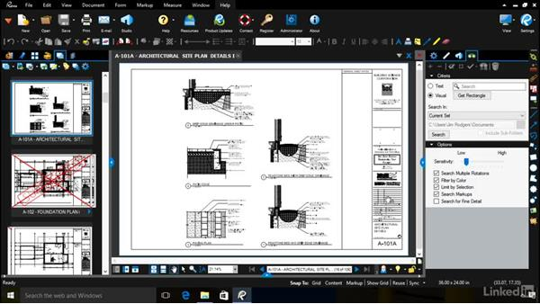 Additional ways to work with sets: Bluebeam: Managing Construction Drawings Digitally