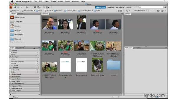 Placing images: Designing a Newsletter