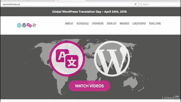 Welcome: WordPress and Internationalization