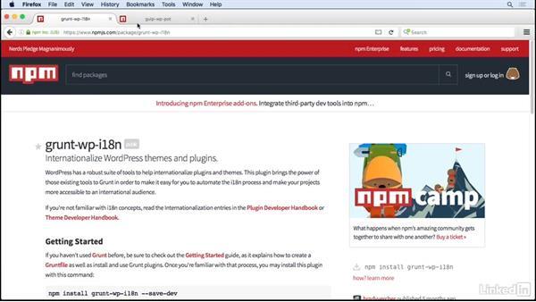 Automate with Grunt & Gulp: WordPress and Internationalization