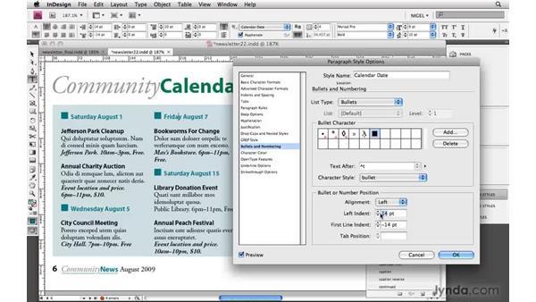 Designing a calendar: Designing a Newsletter