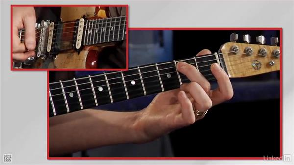 Playing two notes together: Rock Guitar: Teach Yourself to Play