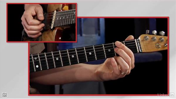 The third string G: Rock Guitar: Teach Yourself to Play