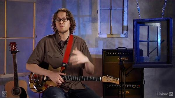 Power chords: Rock Guitar: Teach Yourself to Play