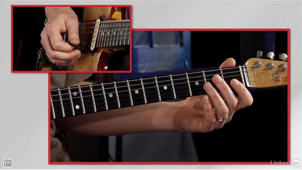 The first string E: Rock Guitar: Teach Yourself to Play