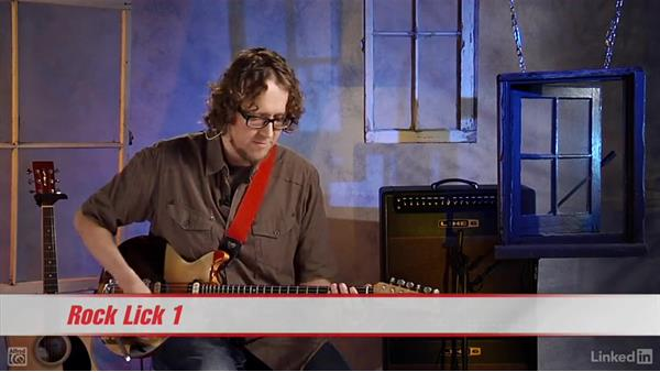 Rock and blues licks and tricks: Rock Guitar: Teach Yourself to Play