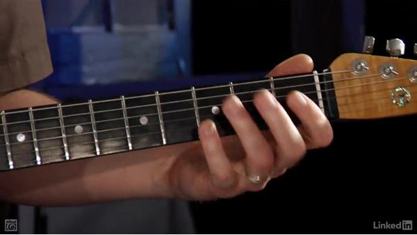 The E minor pentatonic scale: Rock Guitar: Teach Yourself to Play