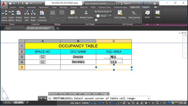 Welcome: AutoCAD Facilities Management: Occupancy