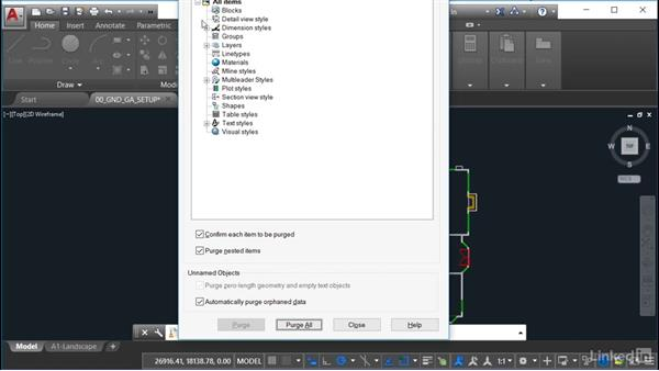 Working with the structural drawing (FP): AutoCAD Facilities Management: Occupancy