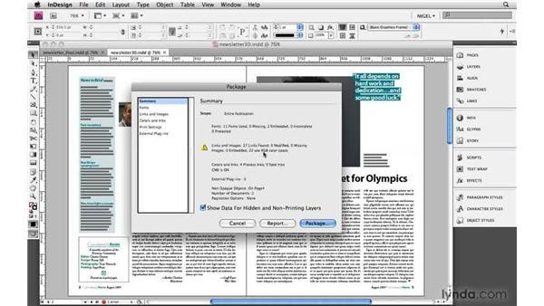 Packaging: Designing a Newsletter