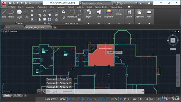 Setting hatch patterns: AutoCAD Facilities Management: Occupancy