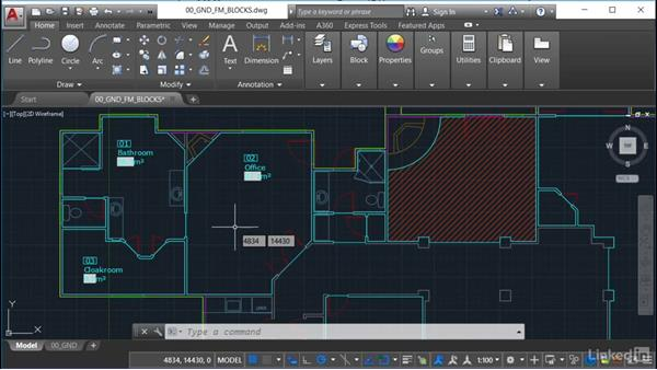 Why use blocks and polylines?: AutoCAD Facilities Management: Occupancy