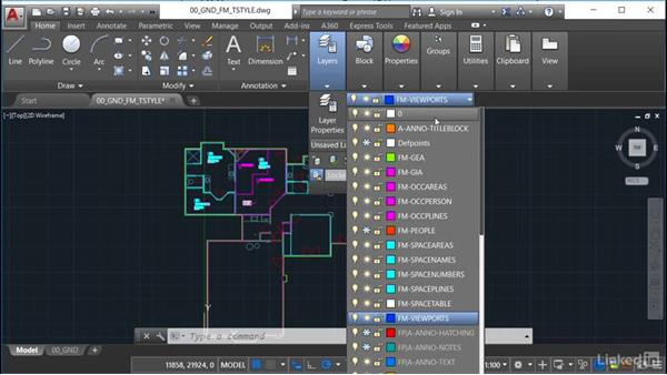 Setting up the occupancy table style: AutoCAD Facilities Management: Occupancy