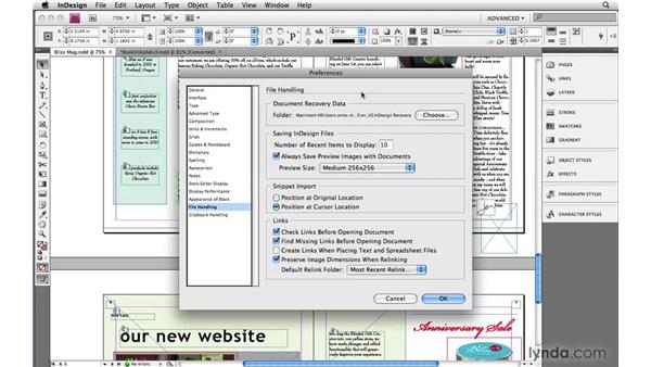 2. Deleting a crashing recovery file: InDesign: 10 Tips for Troubleshooting Files