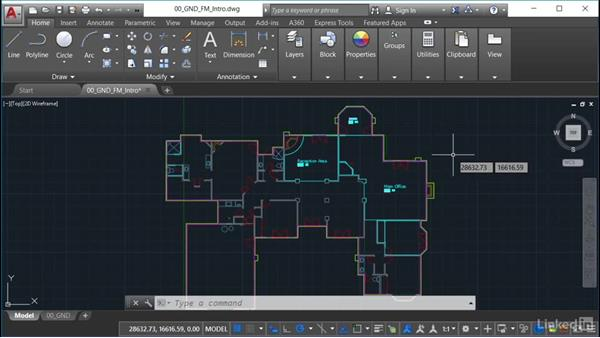 Using space management in AutoCAD: AutoCAD Facilities Management: Space Management