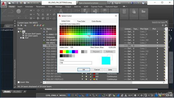 Layer naming strategy: AutoCAD Facilities Management: Space Management