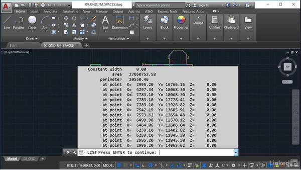 Why use polylines?: AutoCAD Facilities Management: Space Management