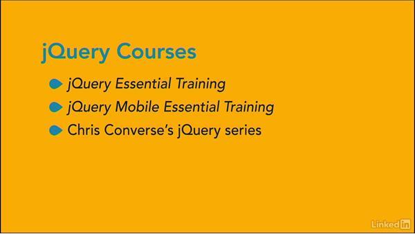 Next Steps: jQuery: jQuery for Web Designers
