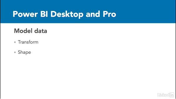 Launch Power BI Desktop: Power BI Pro Essential Training
