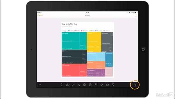 Share from a mobile app: Power BI Pro Essential Training
