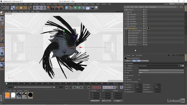 Importing Houdini files in to CINEMA  4D: Houdini: Advanced Motion Graphics