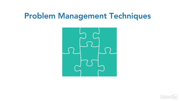 Welcome (course overview): Putting ITIL® Into Practice: Problem Management Techniques