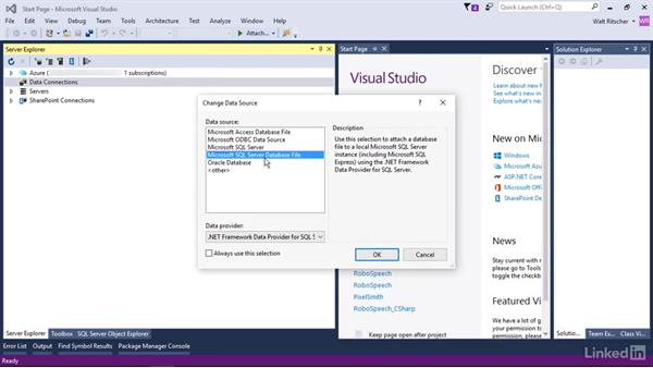 Use Logical name to shorten a path: Visual Studio 2015 Essentials 11: Data Tools