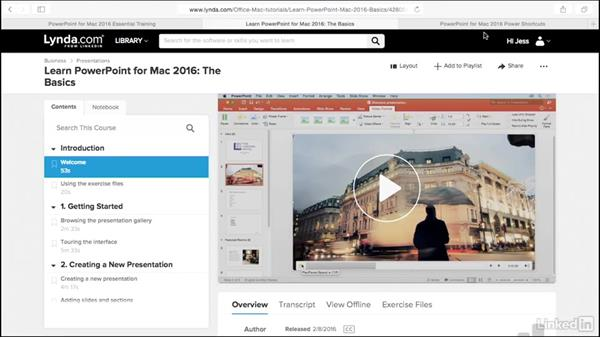 What you should know before watching this course: PowerPoint for Mac 2016 Tips and Tricks