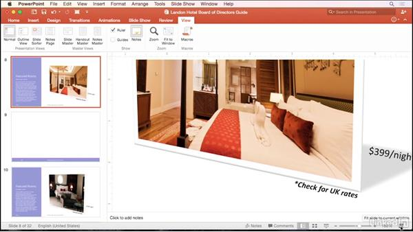 Customize the view: PowerPoint for Mac 2016 Tips and Tricks