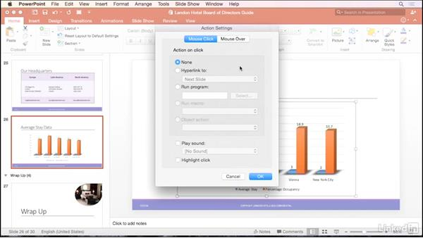 Hyperlink to a spreadsheet during a presentation: PowerPoint for Mac 2016 Tips and Tricks
