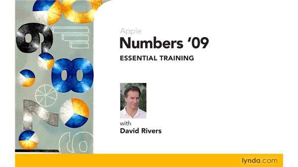 Goodbye: Numbers '09 Essential Training