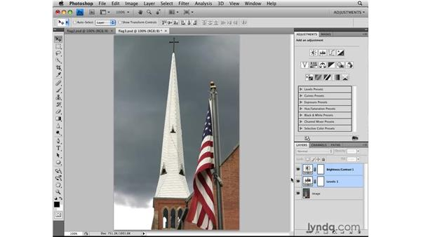 Reusing adjustment layers: Photoshop CS4: Image Adjustments in Depth