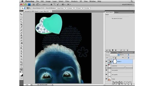 Clipping adjustment layers: Photoshop CS4: Image Adjustments in Depth