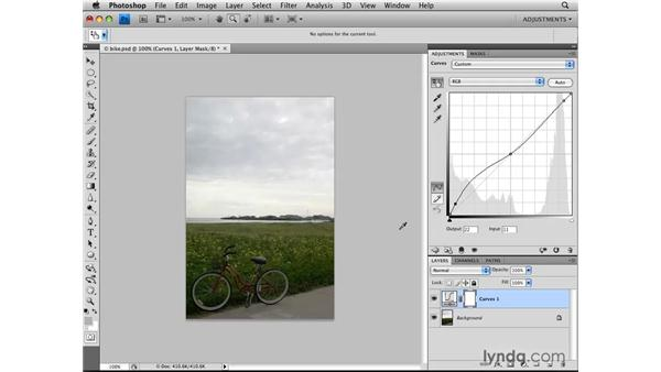 Making On-Click Curves adjustments: Photoshop CS4: Image Adjustments in Depth
