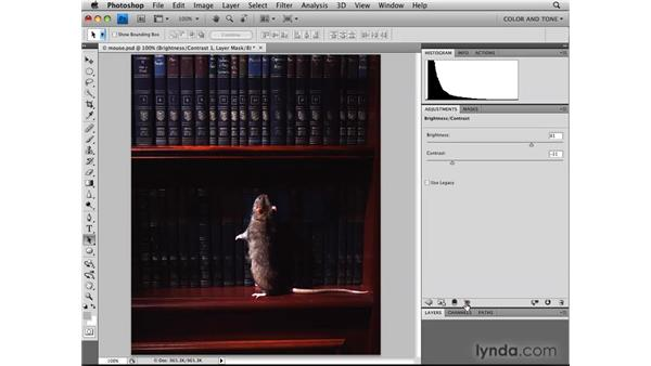 Reviewing Brightness/Contrast: Photoshop CS4: Image Adjustments in Depth