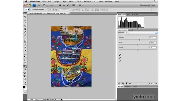 Dealing with exposure  : Photoshop CS4: Image Adjustments in Depth