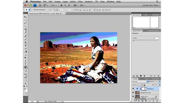 Applying the Equalize adjustment: Photoshop CS4: Image Adjustments in Depth