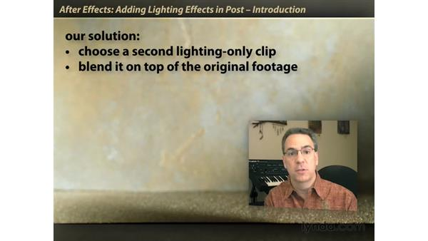 Welcome: After Effects: Lighting Effects in Post