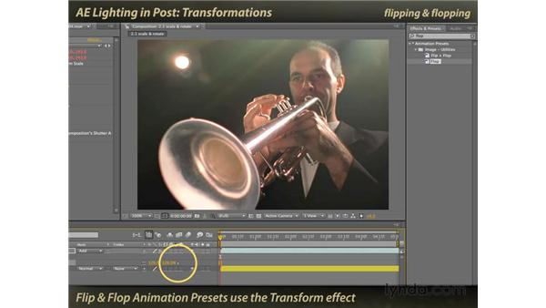 Transformations: After Effects: Lighting Effects in Post