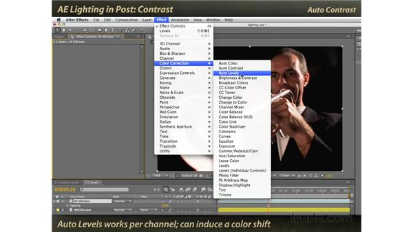 Contrast: After Effects: Lighting Effects in Post