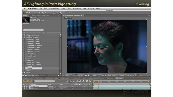 Vignetting: After Effects: Lighting Effects in Post