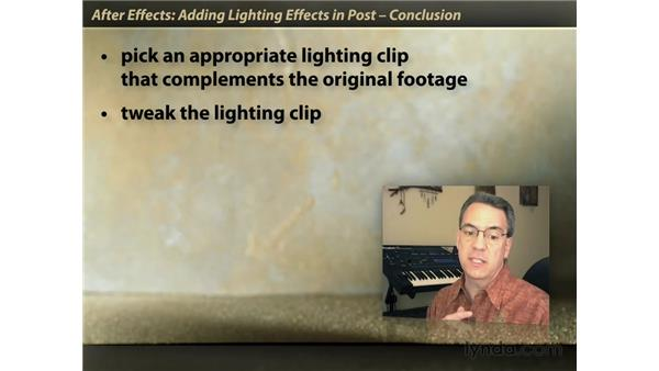 Goodbye: After Effects: Lighting Effects in Post