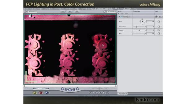 Color correction: Final Cut Pro: Lighting Effects in Post