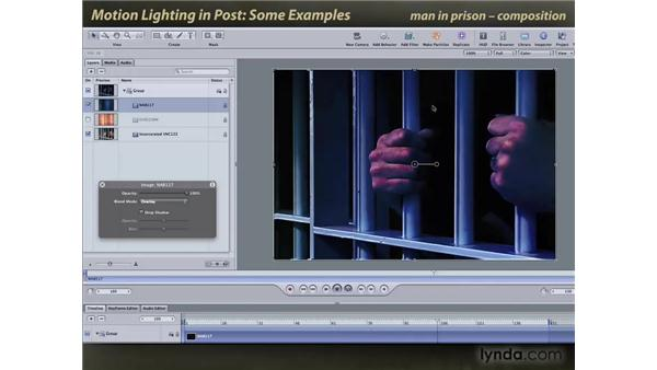Some lighting effect examples: Motion: Lighting Effects in Post