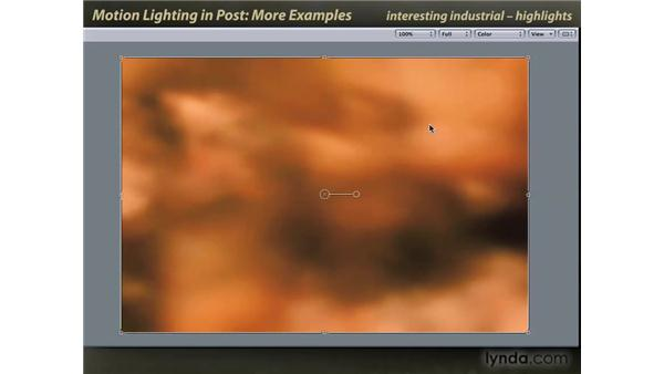 Some more lighting effect examples: Motion: Lighting Effects in Post