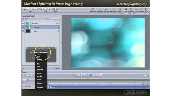 Vignetting: Motion: Lighting Effects in Post
